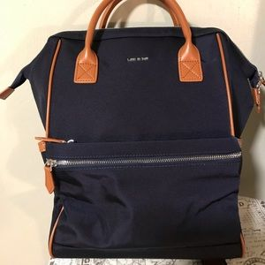 Handbags - 💜 Navy Backpack Doctor Bag Style Zipper